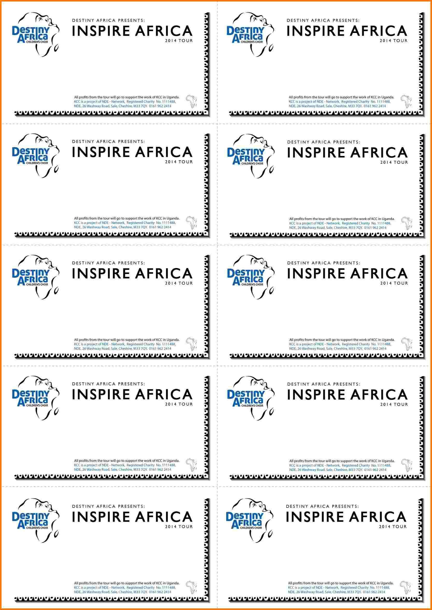 002 Wonderful Word Raffle Ticket Template Idea  2010 Free Printable MicrosoftFull