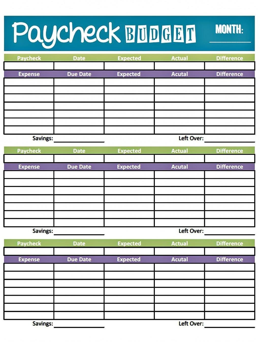 002 Wondrou Bi Weekly Budget Template 2 Concept  2020 Biweekly 2019Large