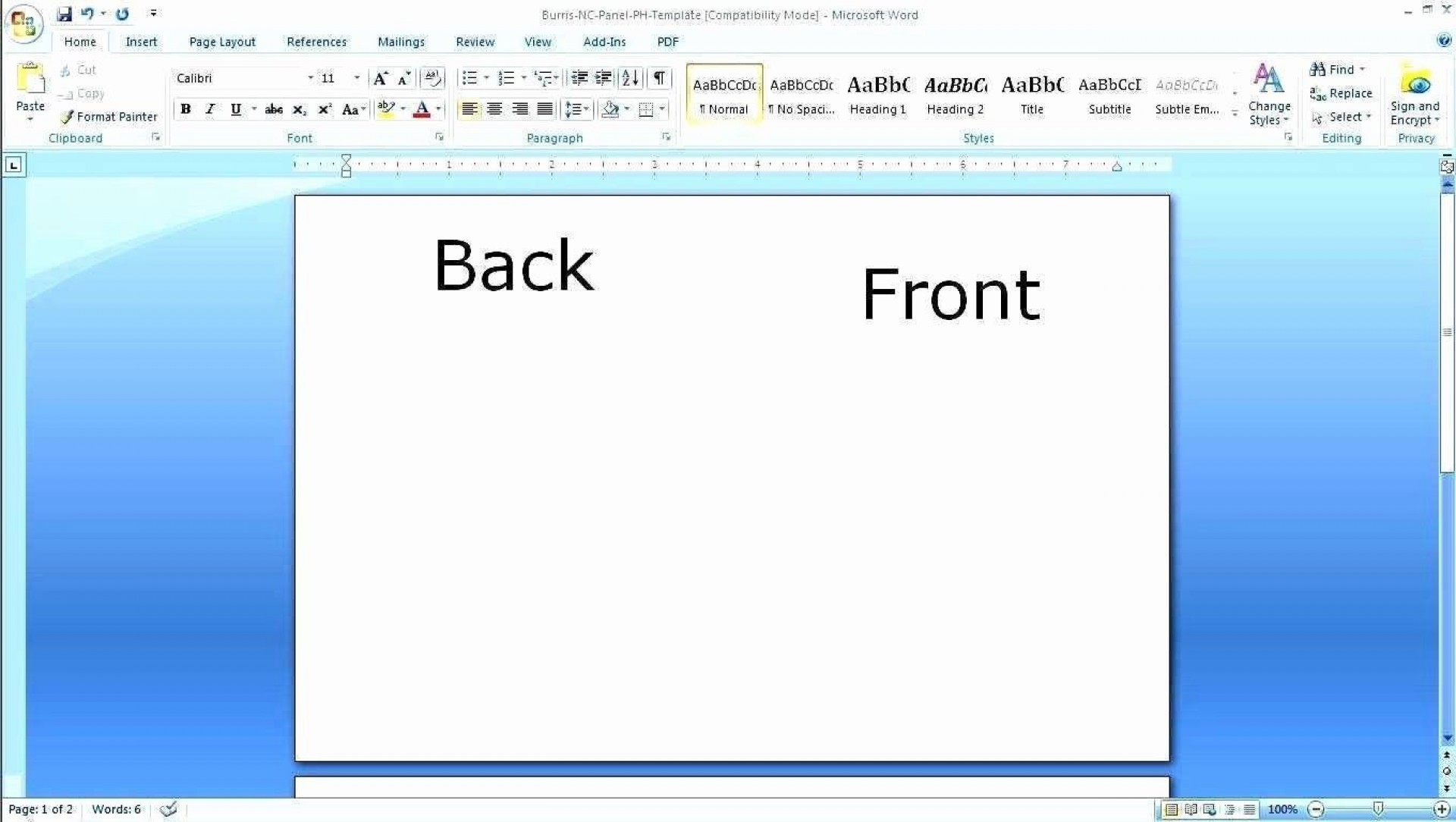 002 Wondrou Busines Card Template Microsoft Word 2010 High Def 1920