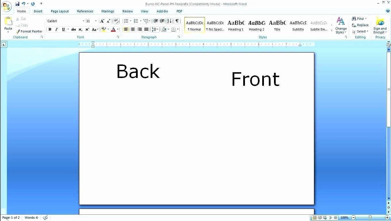 002 Wondrou Busines Card Template Microsoft Word 2010 High Def Full