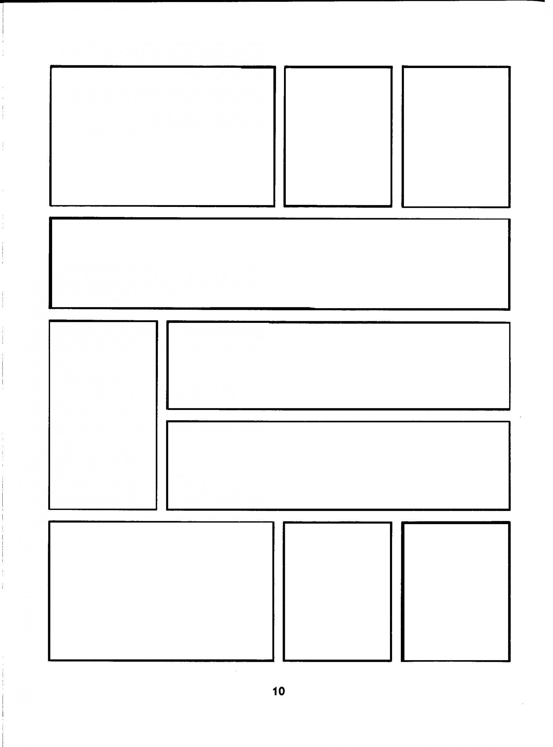 002 Wondrou Comic Strip Layout For Word Inspiration  Book Script Template Microsoft Doc1920