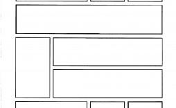 002 Wondrou Comic Strip Layout For Word Inspiration  Book Script Template Microsoft Doc