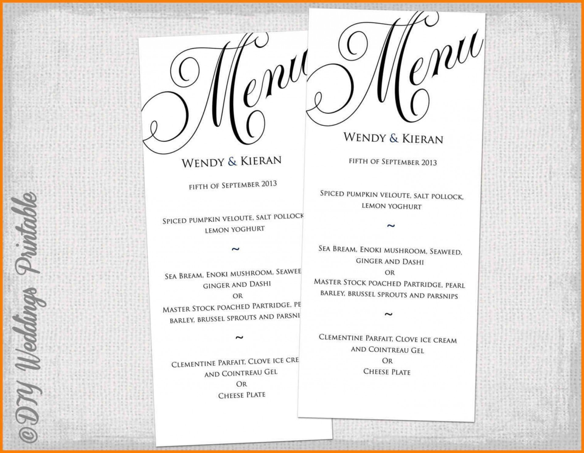 002 Wondrou Dinner Party Menu Template Picture  Card Free Italian Word1920