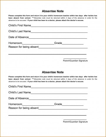 002 Wondrou Doctor Excuse Template For Work Image  Note Missing360