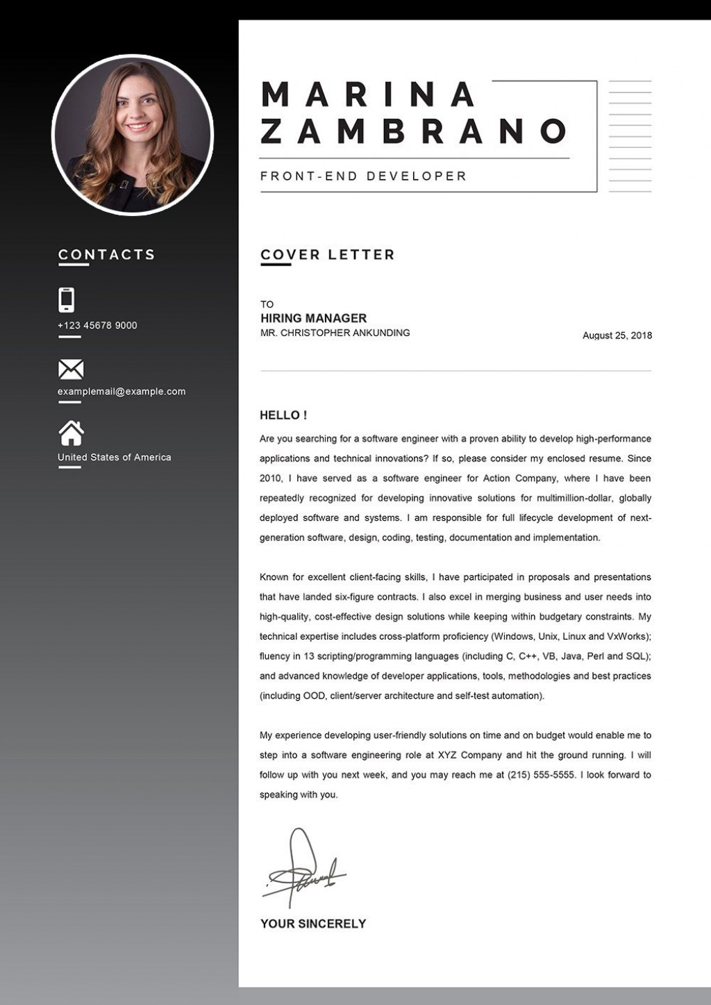 002 Wondrou Download Cv And Cover Letter Template High Definition  TemplatesLarge