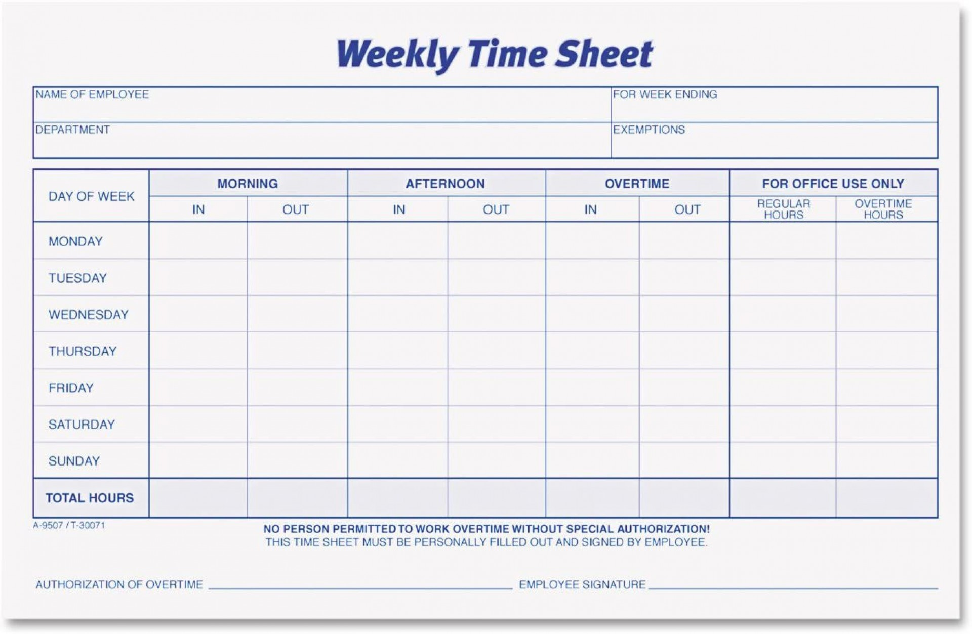 002 Wondrou Employee Time Card Sheet Picture  Template Free Excel1920