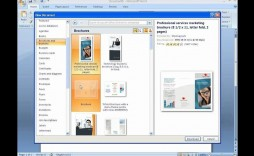 002 Wondrou Format Brochure Word 2007 Image