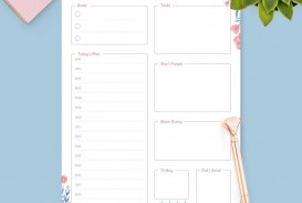 002 Wondrou Free Hourly Schedule Template Word Image