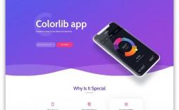 002 Wondrou Free Landing Page Template Bootstrap Concept  3 Html5 2019