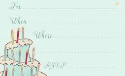 002 Wondrou Free Online Printable Birthday Invitation Template Inspiration  Templates Card Maker