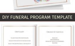 002 Wondrou Free Printable Celebration Of Life Program Template Highest Quality