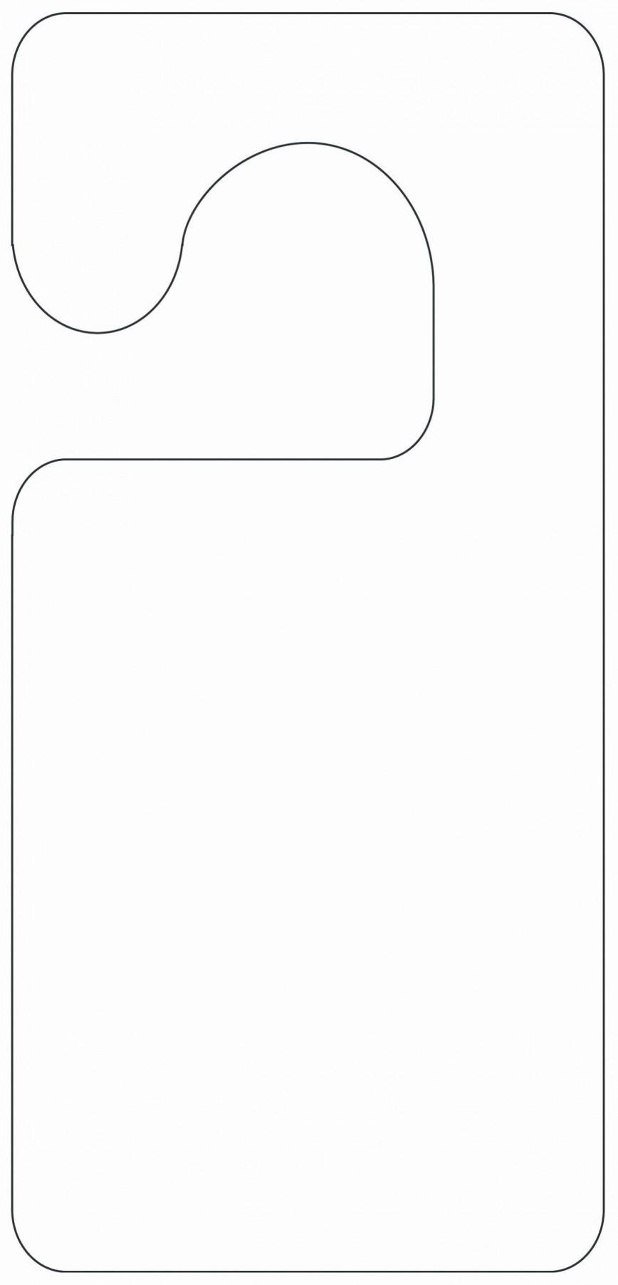 002 Wondrou Free Printable Template For Door Hanger Sample 868