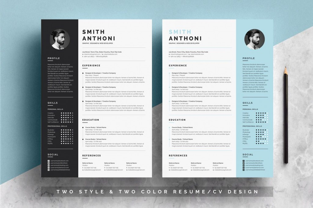 002 Wondrou Free Resume Template For Page Highest Clarity  Pages Apple MacLarge