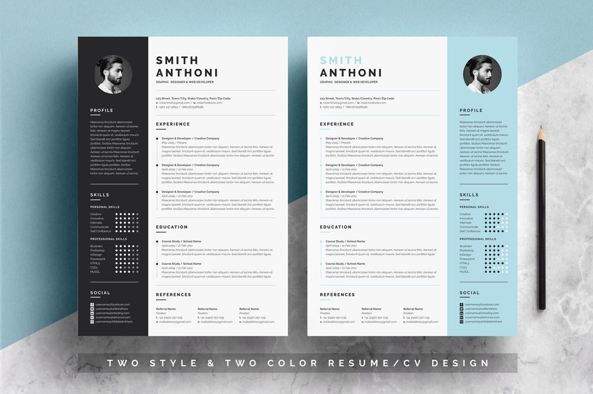 002 Wondrou Free Resume Template For Page Highest Clarity  Pages Apple MacFull