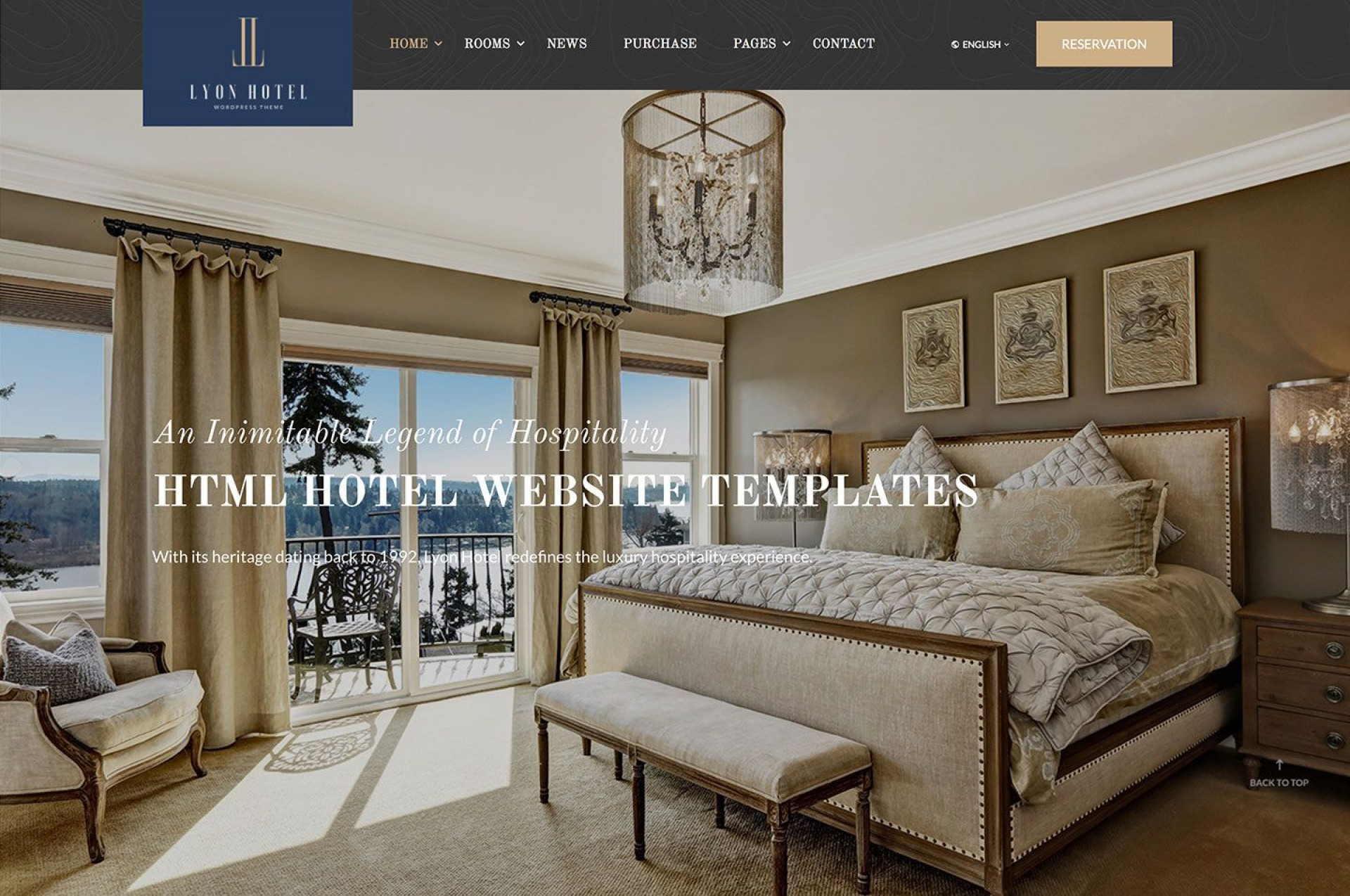 002 Wondrou Hotel Website Template Html Free Download Photo  With Cs Responsive Jquery And Restaurant1920