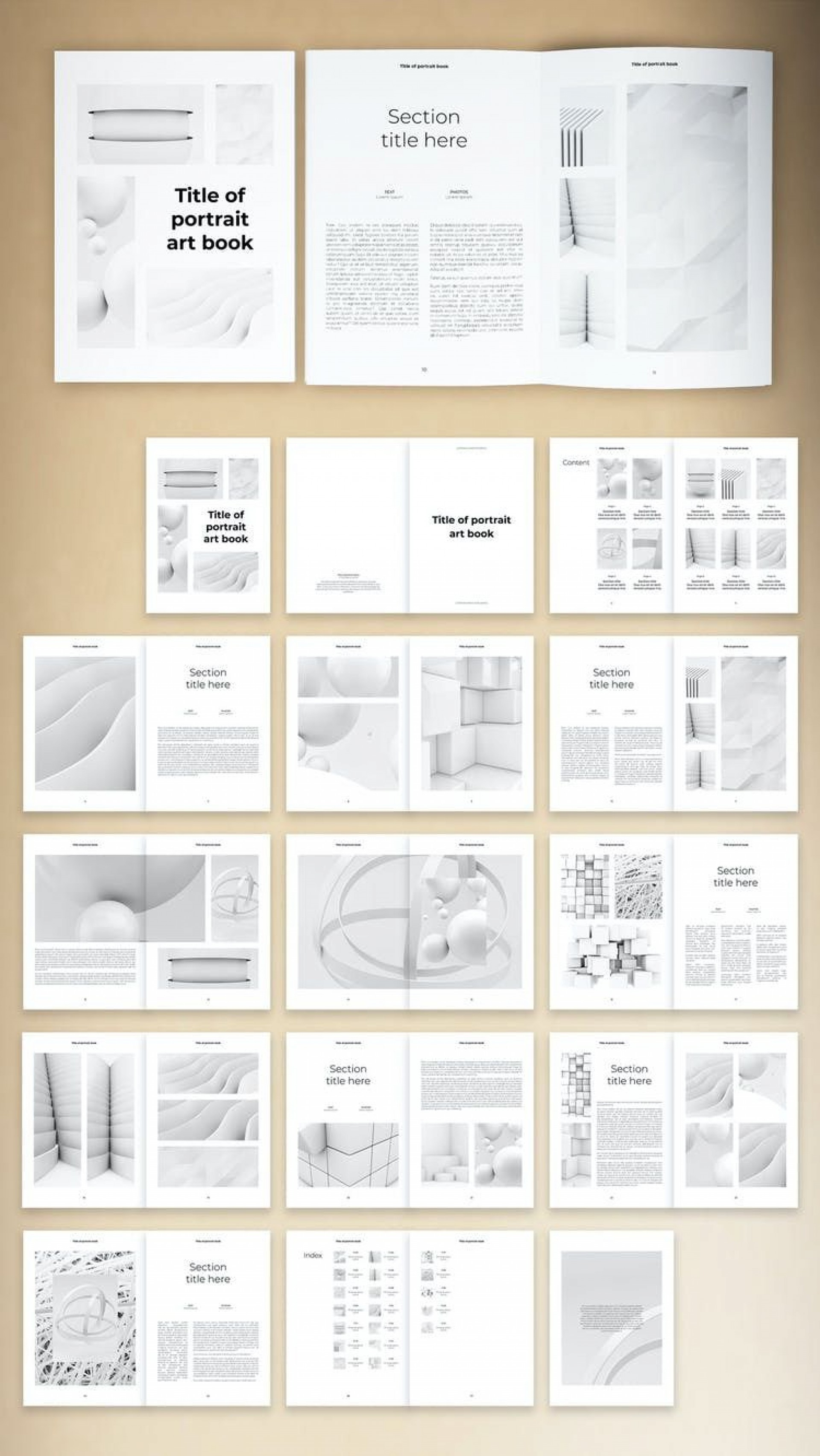 002 Wondrou Indesign Book Layout Template Example  Free Download1920