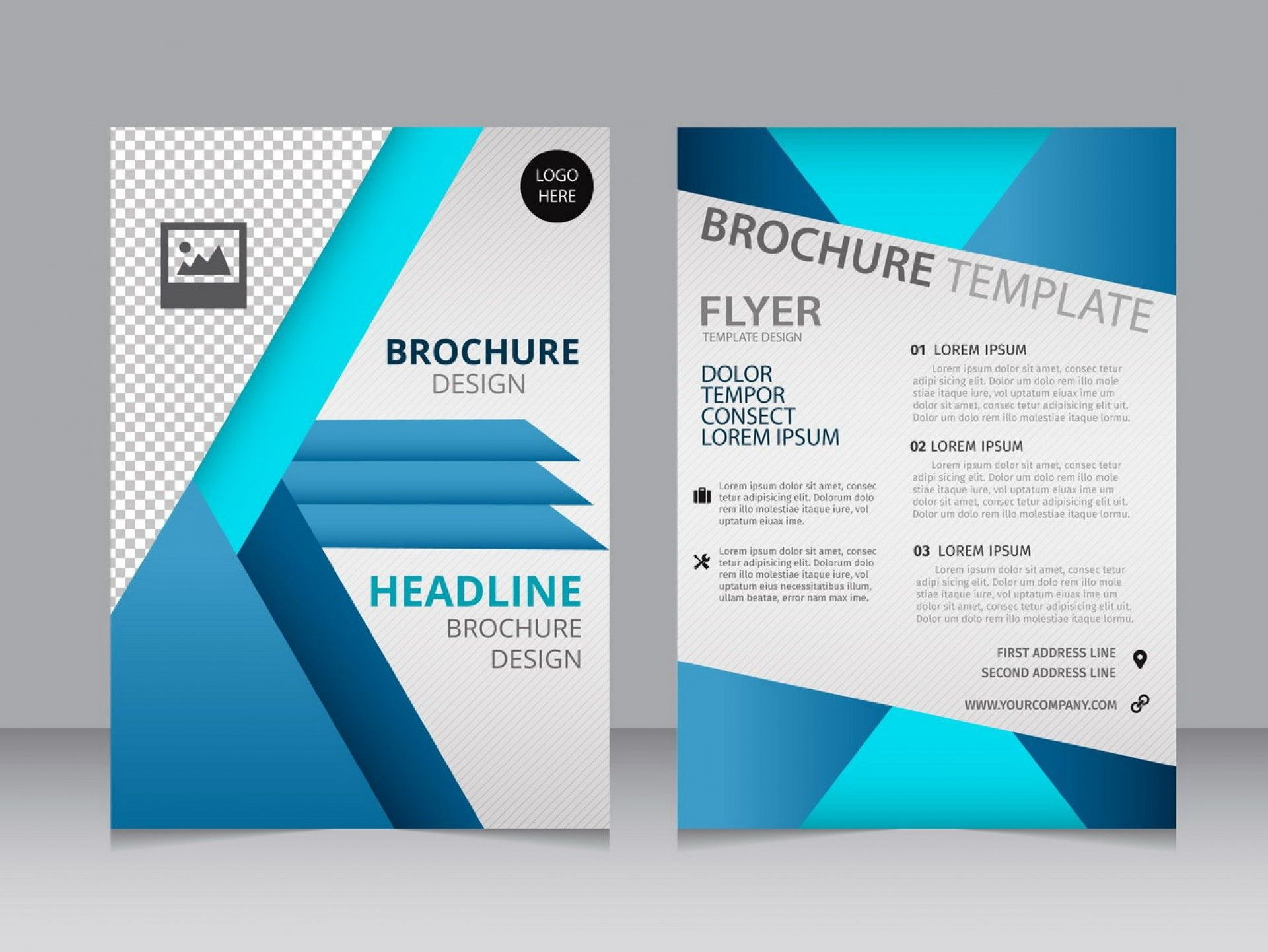 002 Wondrou M Word Blank Brochure Template High Definition  Microsoft Tri FoldFull