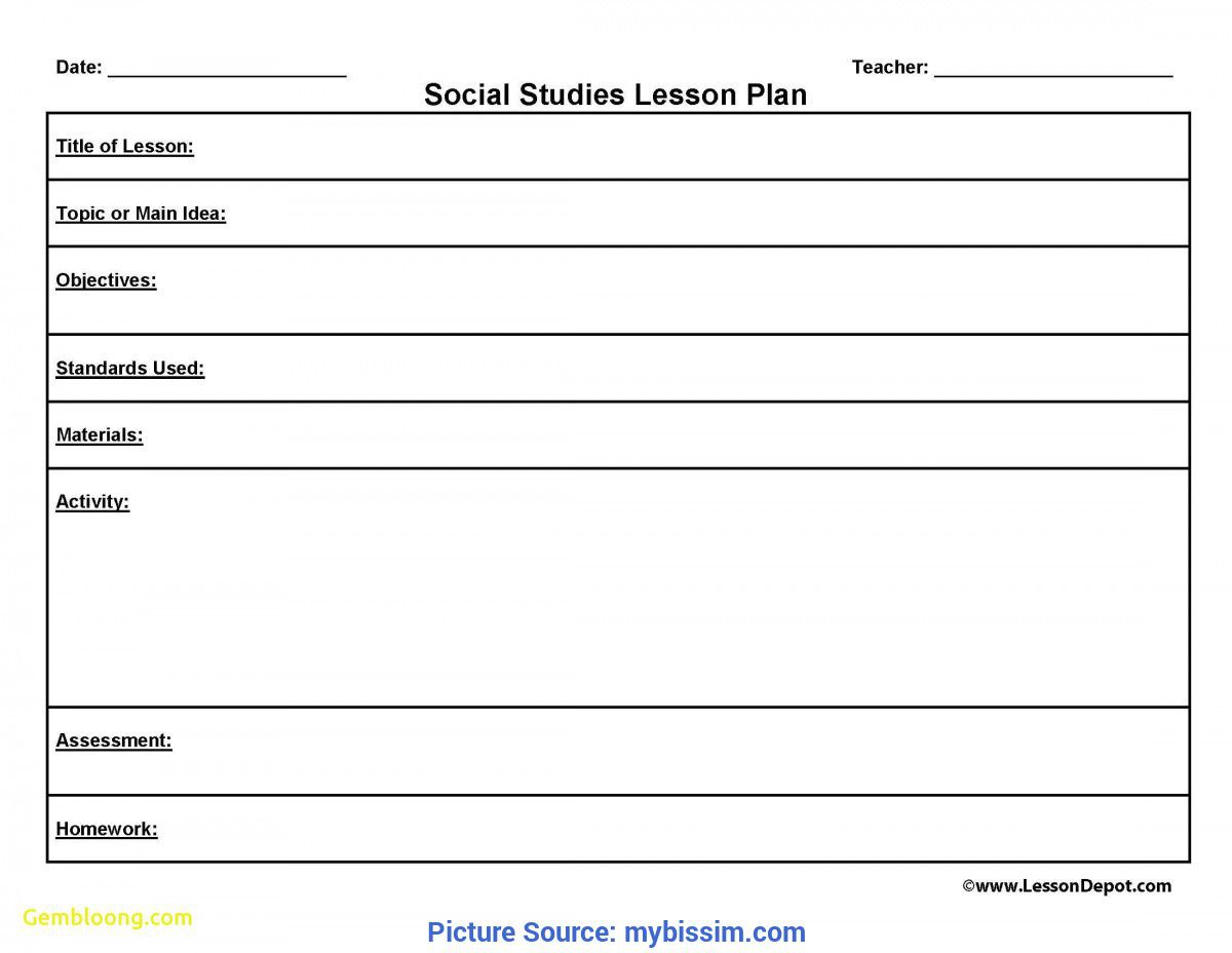002 Wondrou One Day Lesson Plan Template Sample  Example FormatFull