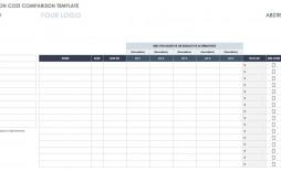 002 Wondrou Price Comparison Excel Template Inspiration  Download Budget Vendor