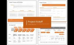 002 Wondrou Project Management Kickoff Meeting Template Ppt Idea