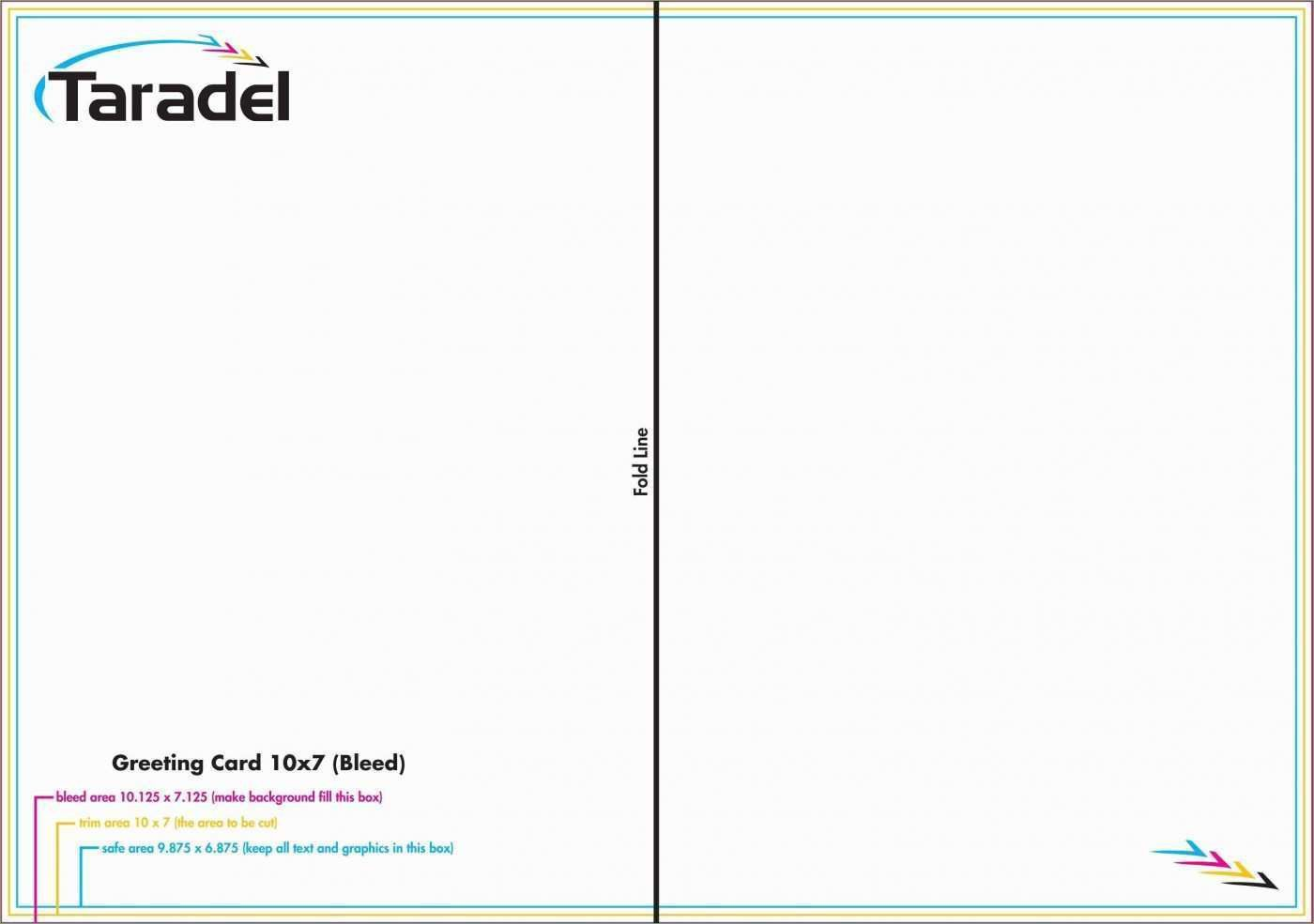 002 Wondrou Quarter Fold Greeting Card Template Word Idea Full