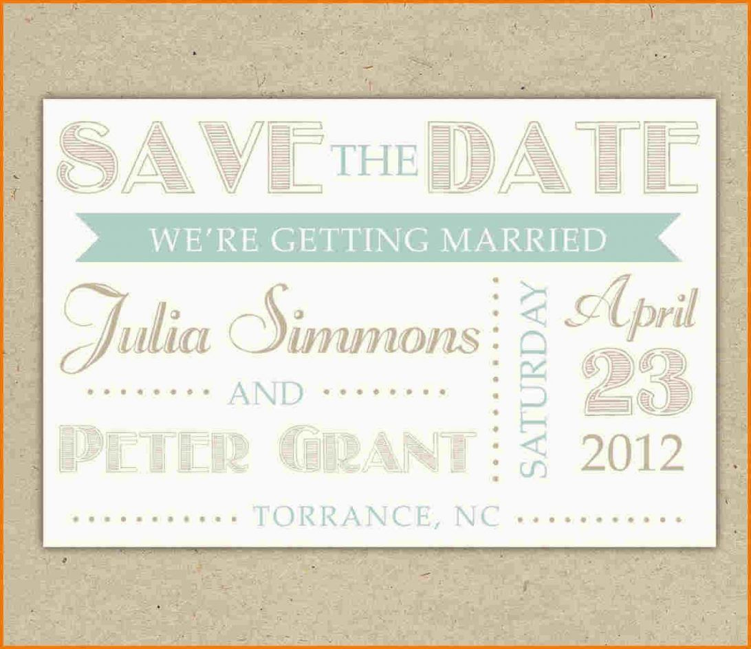 002 Wondrou Save The Date Template Word Inspiration  Free Customizable For Holiday PartyFull