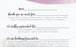 002 Wondrou Thank You Note Template Wedding Money Sample  Card Example For Cash Gift
