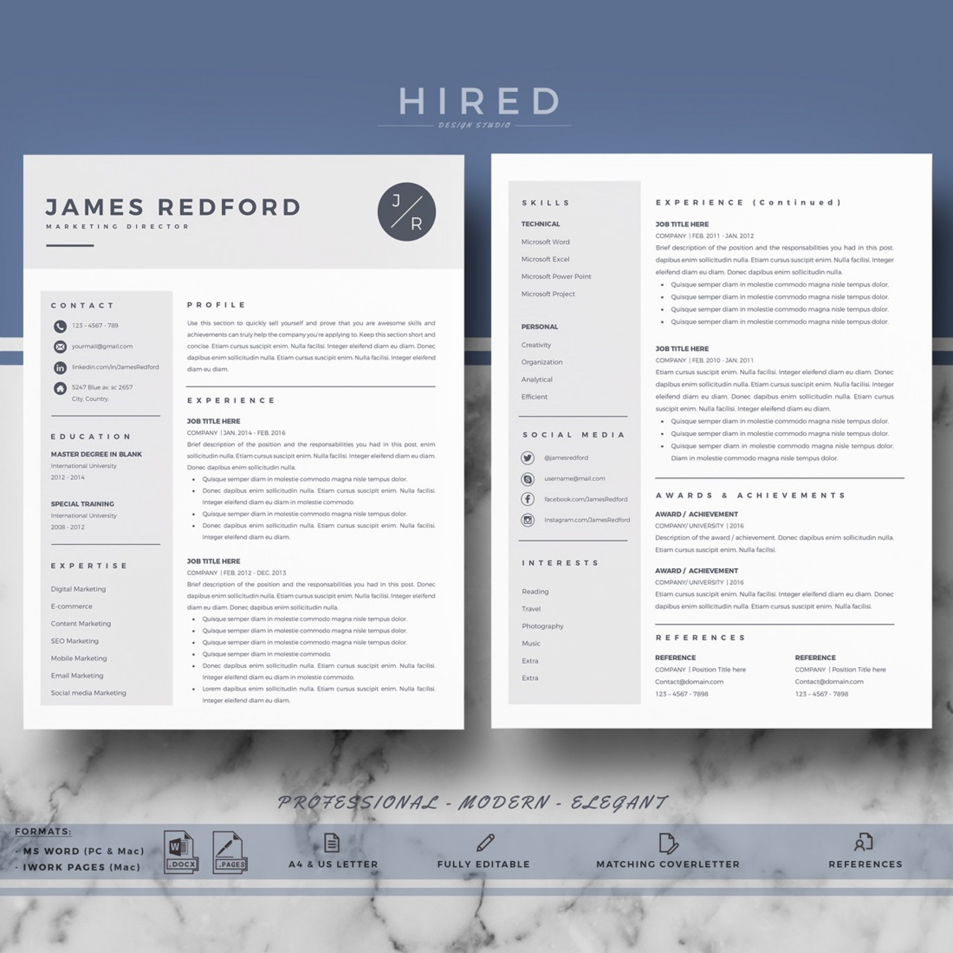002 Wondrou Word Resume Template Mac Concept  2011 Free Microsoft1920
