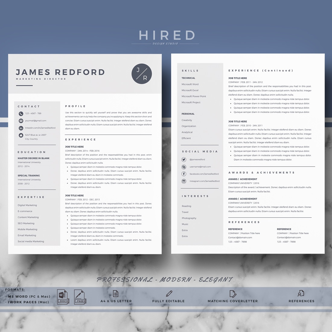002 Wondrou Word Resume Template Mac Concept  2011 Free MicrosoftFull