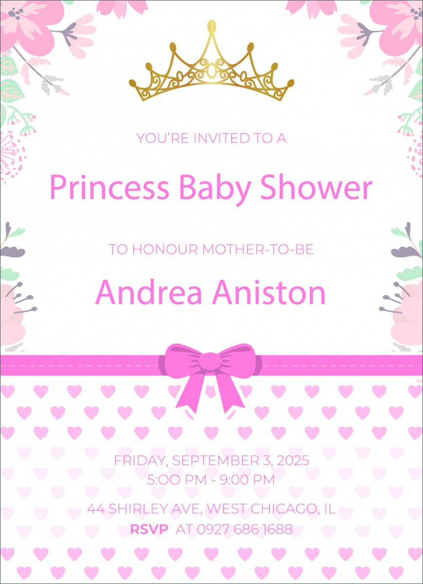 003 Amazing Baby Shower Invitation Template Word Image  Free Editable For Invite Sample Microsoft
