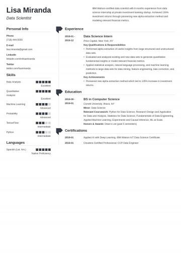 003 Amazing College Graduate Resume Template Design  Student Example 2020 New 2018360