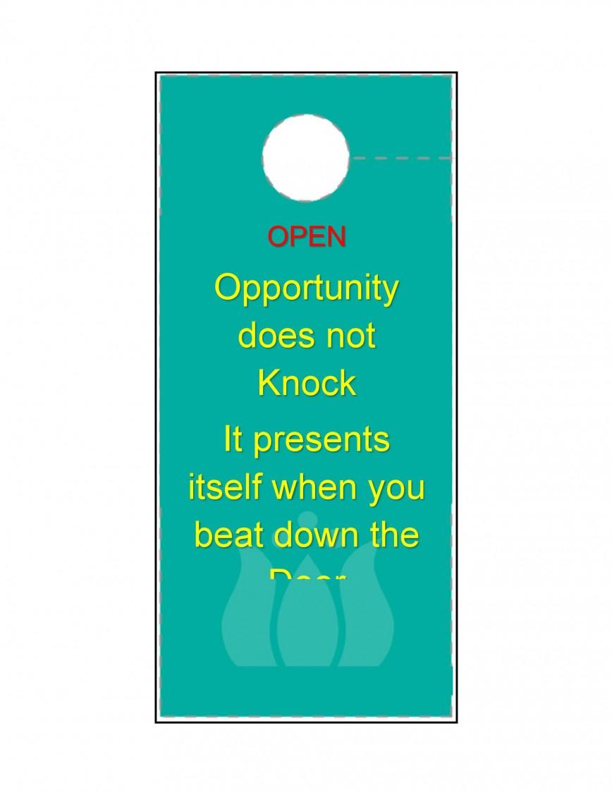 003 Amazing Free Download Door Hanger Template Inspiration 868
