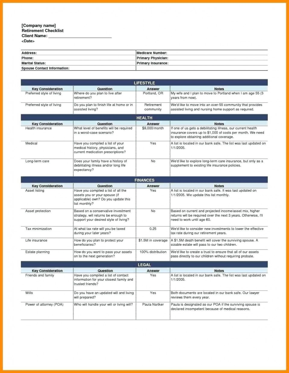 003 Amazing Free Event Planning Template Checklist Image  Planner Party960
