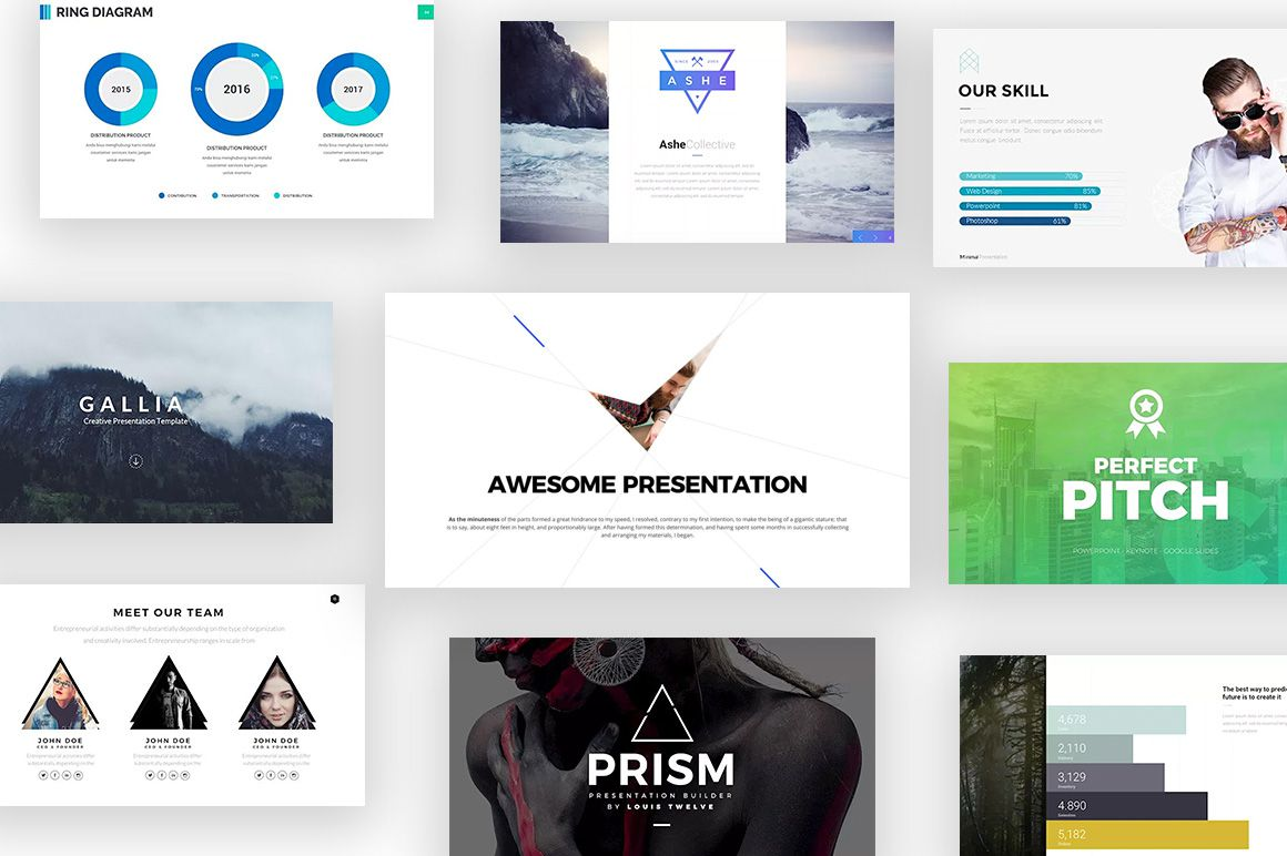 003 Amazing Free Powerpoint Presentation Template Concept  Templates 22 Slide For The Perfect Busines Strategy Download EngineeringFull