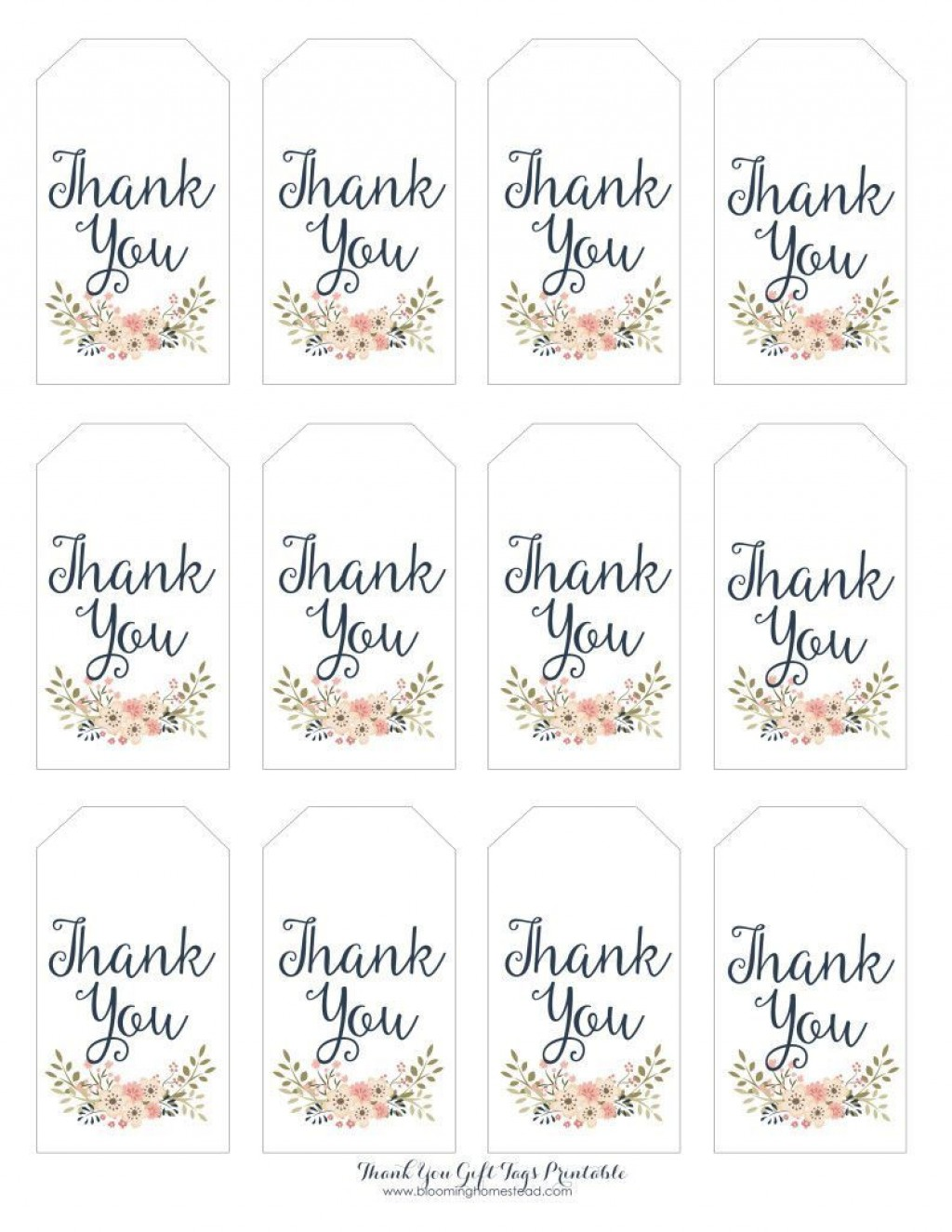 003 Amazing Free Printable Thank You Gift Tag Template High Def  TemplatesLarge