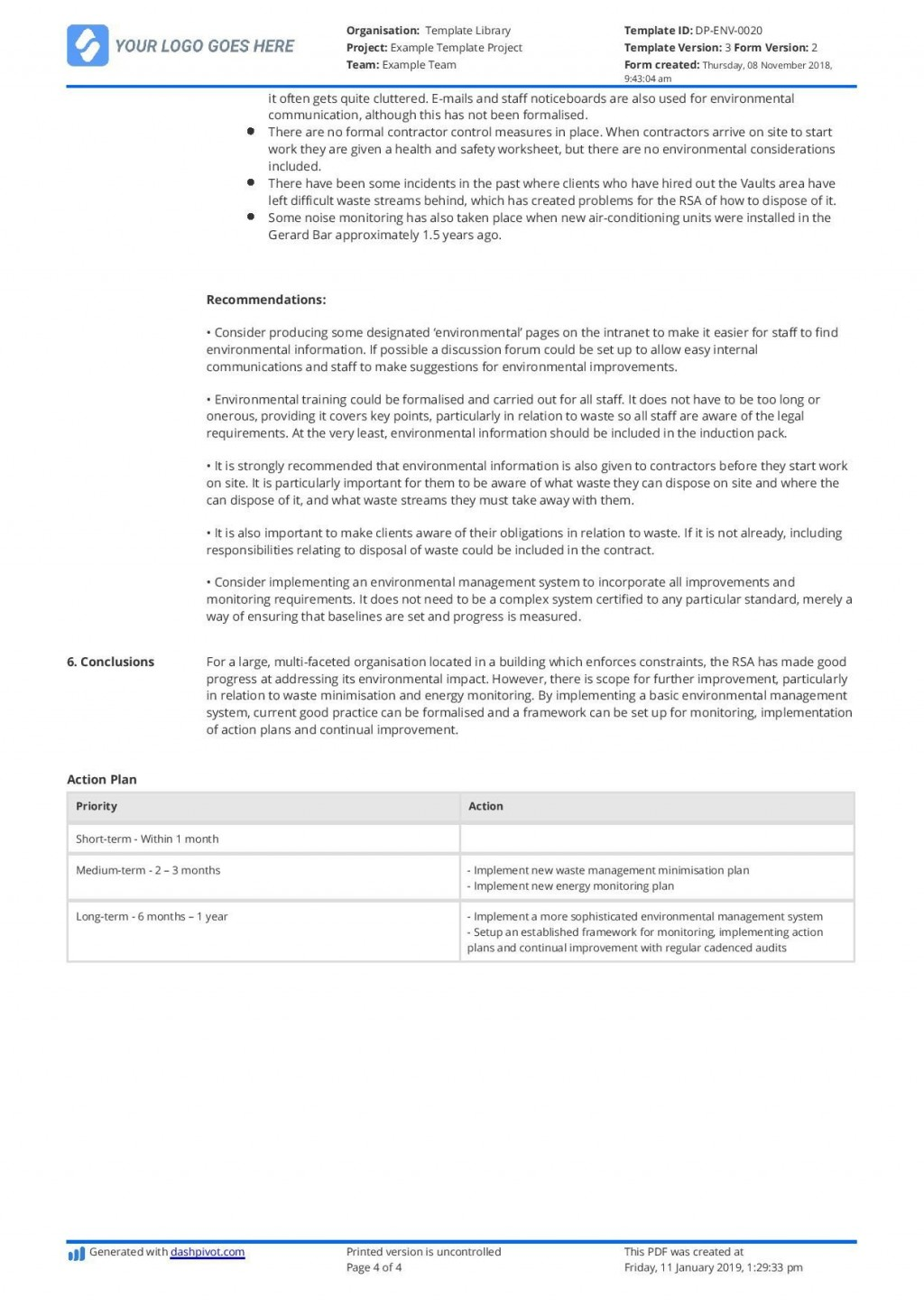 003 Amazing Internal Audit Report Template High Def  Powerpoint Format In Word Download FreeLarge