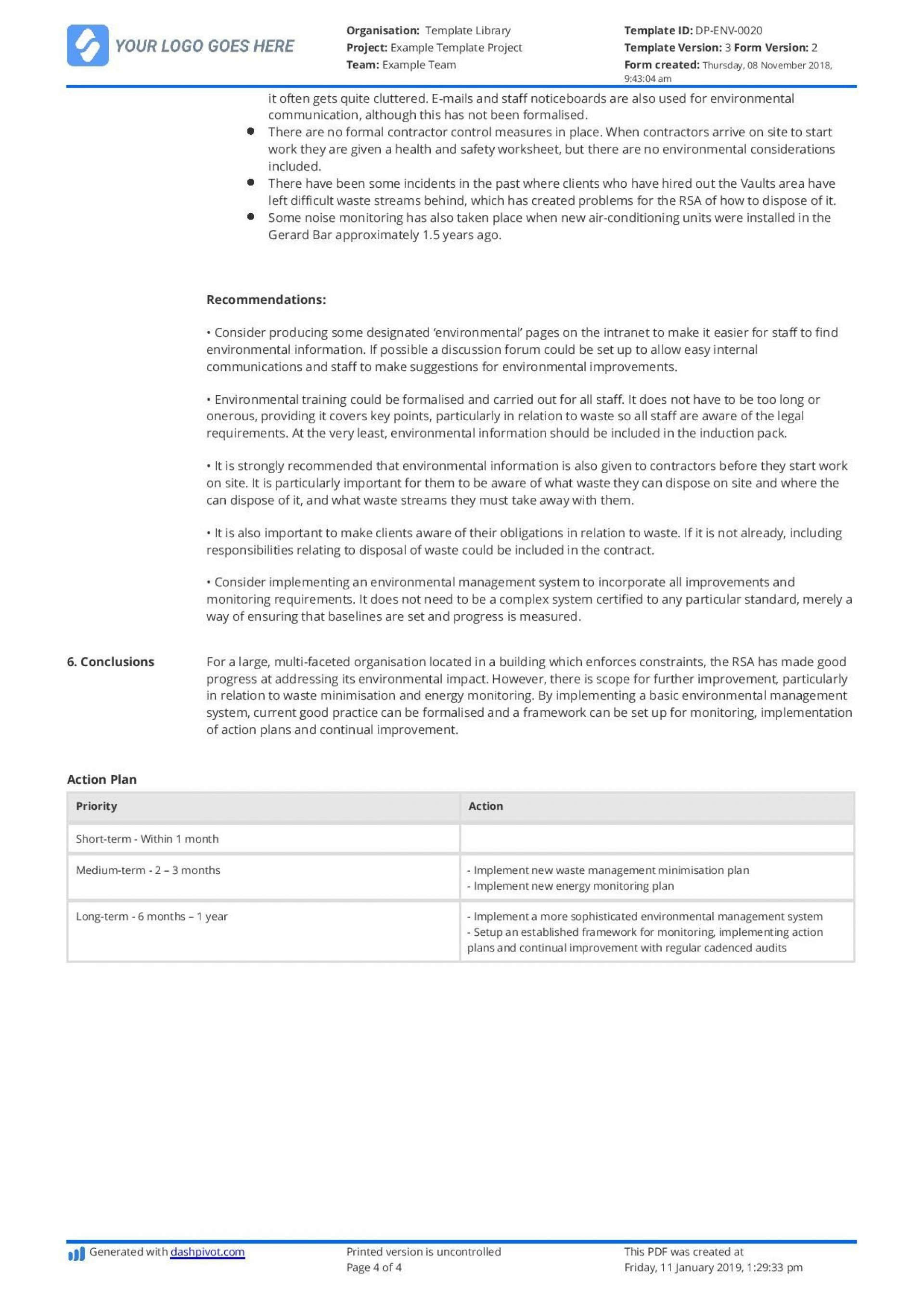 003 Amazing Internal Audit Report Template High Def  Powerpoint Format In Word Download Free1920