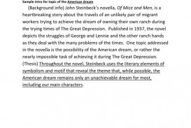 003 Amazing Of Mice And Men Essay High Def  Prompt Topic