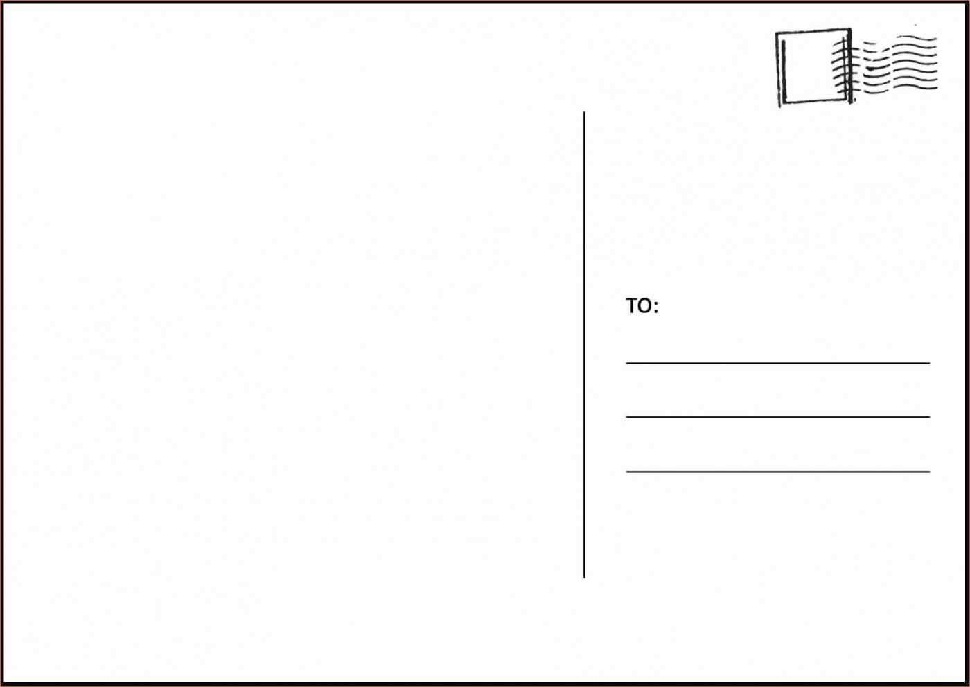 003 Amazing Postcard Layout For Microsoft Word Picture  Busines Template1400