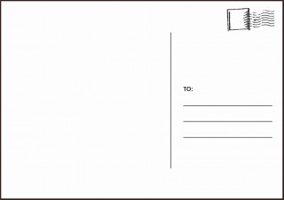 003 Amazing Postcard Layout For Microsoft Word Picture  Busines Template320