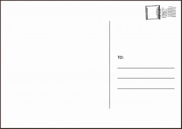 003 Amazing Postcard Layout For Microsoft Word Picture  Busines Template360
