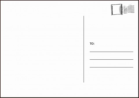 003 Amazing Postcard Layout For Microsoft Word Picture  Busines Template480