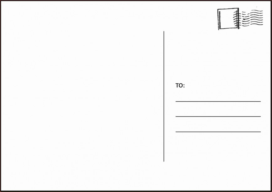 003 Amazing Postcard Layout For Microsoft Word Picture  Busines Template868