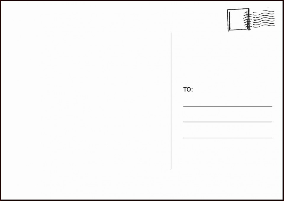 003 Amazing Postcard Layout For Microsoft Word Picture  Busines Template960