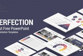 003 Amazing Professional Ppt Template Free Download Highest Clarity  For Project Presentation Powerpoint Thesi