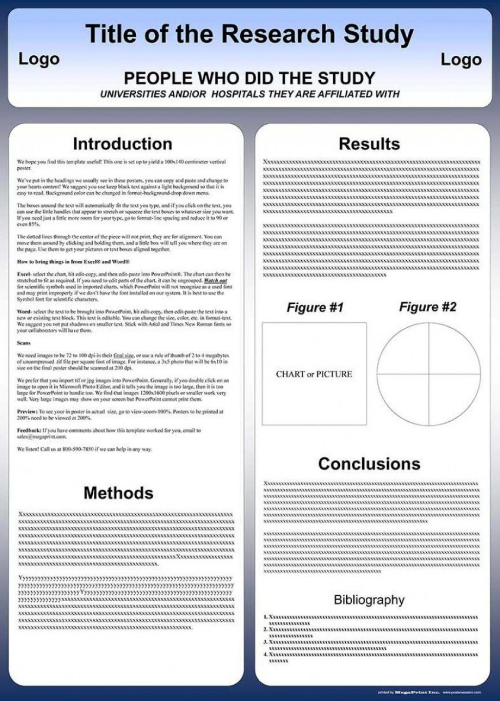 003 Amazing Scientific Poster Template A1 Free Download Photo Large
