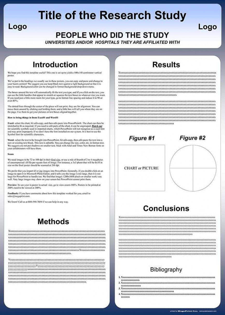 003 Amazing Scientific Poster Template A1 Free Download Photo Full
