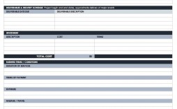 003 Amazing Simple Scope Of Work Template High Resolution  Example Sample Excel