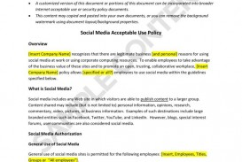 003 Amazing Social Media Policie Template High Definition  Policy For Small Busines Australia Employee Uk Counselor