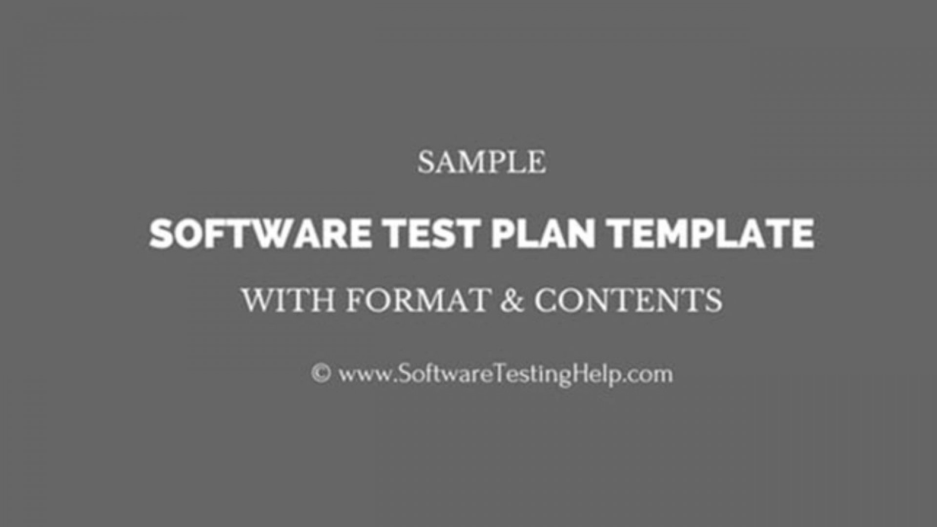 003 Amazing Software Test Plan Template Image  Templates1920